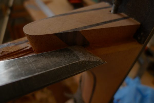 dovetail neck, montgomery guitars