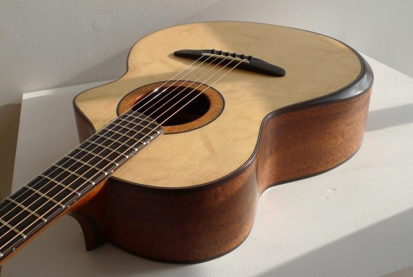 bevel, montgomery guitars, acoustic bevel