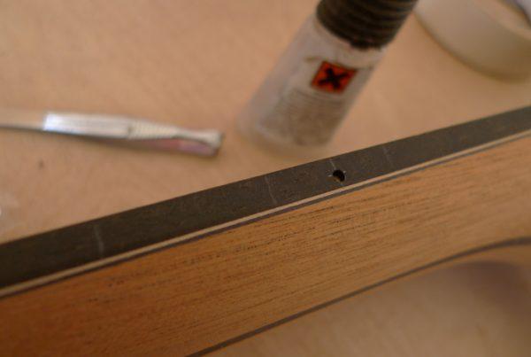 fret marker, montgomery guitars