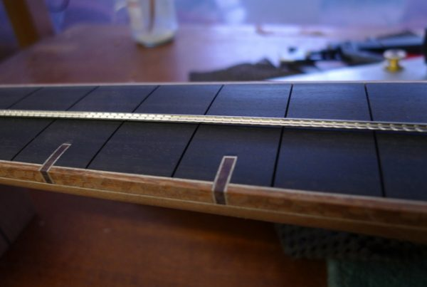 fretwork, montgomery guitars