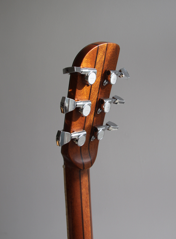mahogany neck, montgomery guitars