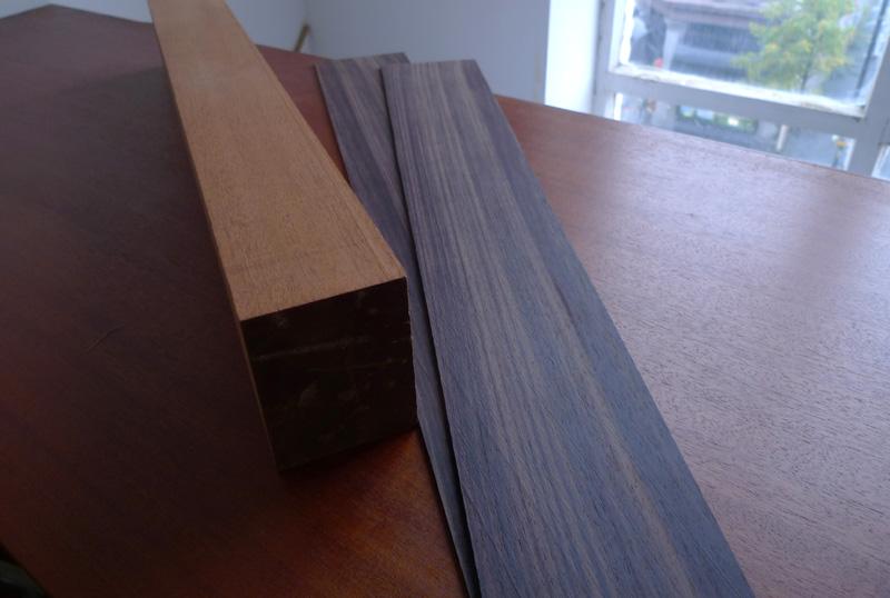 mahogany, 5 piece neck, montgomery guitars