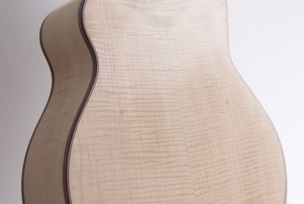 maple back, guitar, montgomery guitars