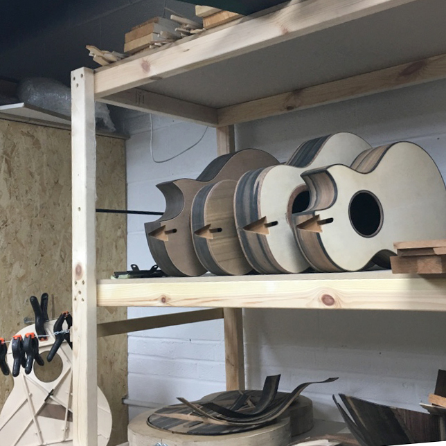 guitar building, lutherie, northern ireland, workshop, montgomery guitars