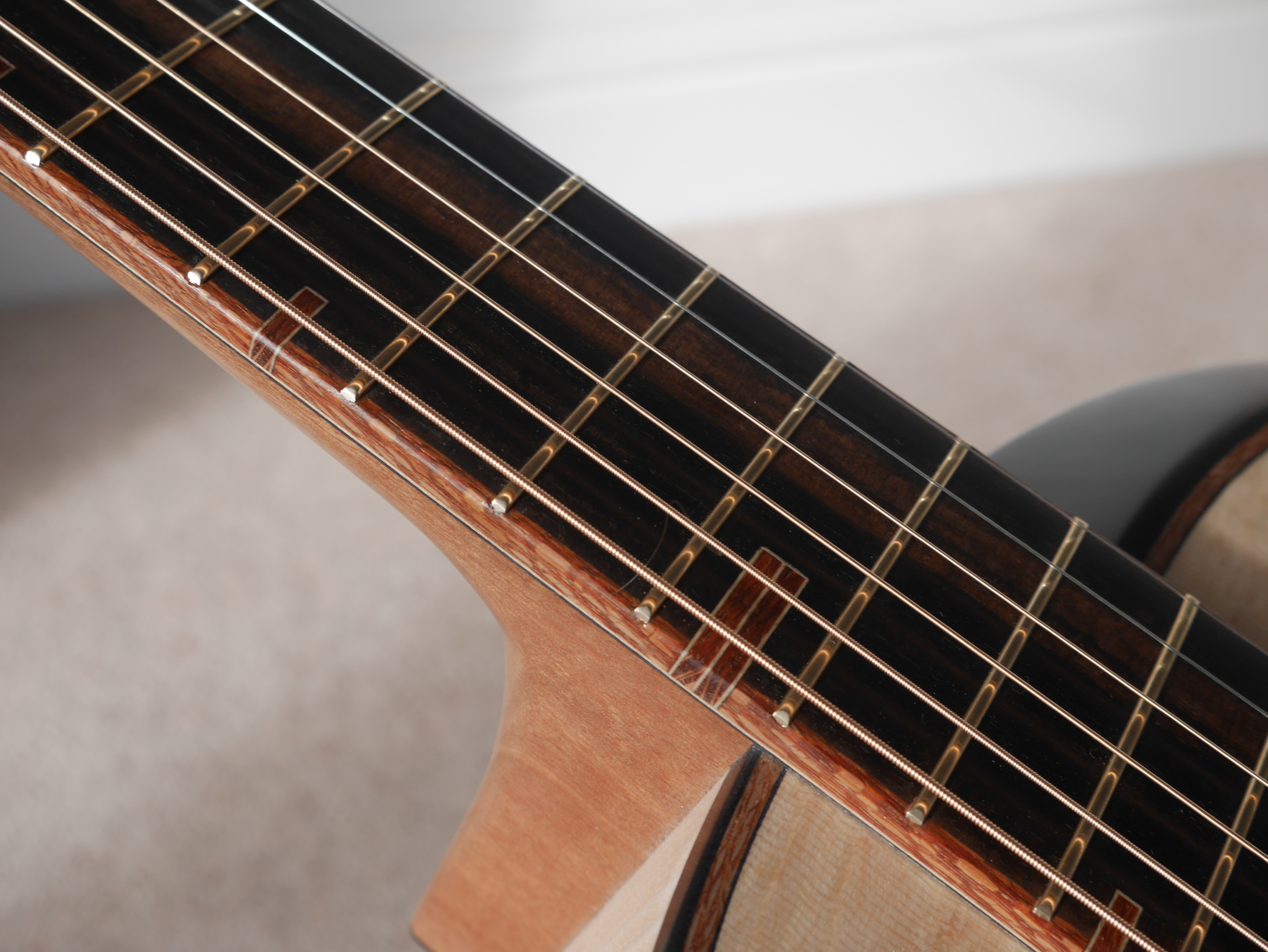 fret markers, acosutic guitar, handmade, custom, inlay, montgomery guitars, northern ireland, carrickfergus