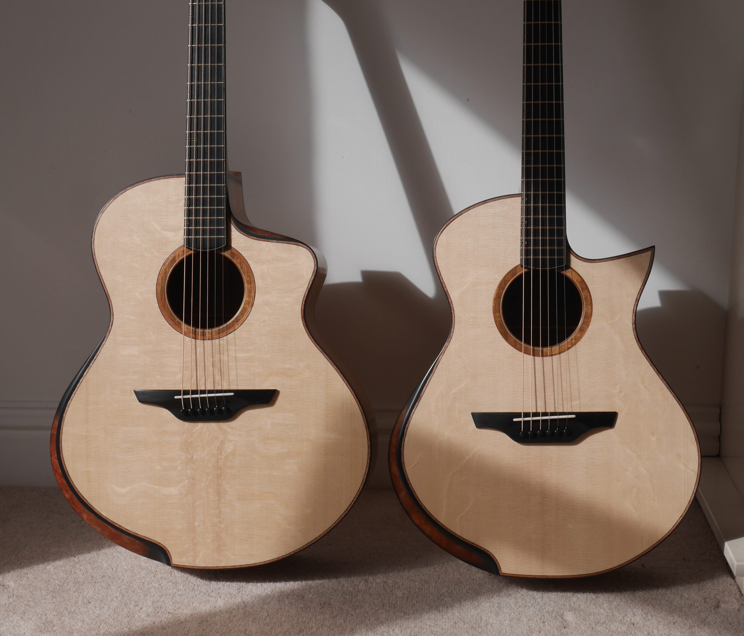 montgomery guitars, handmade, luthier, lutherie, jumbo, acoustic, grand concert
