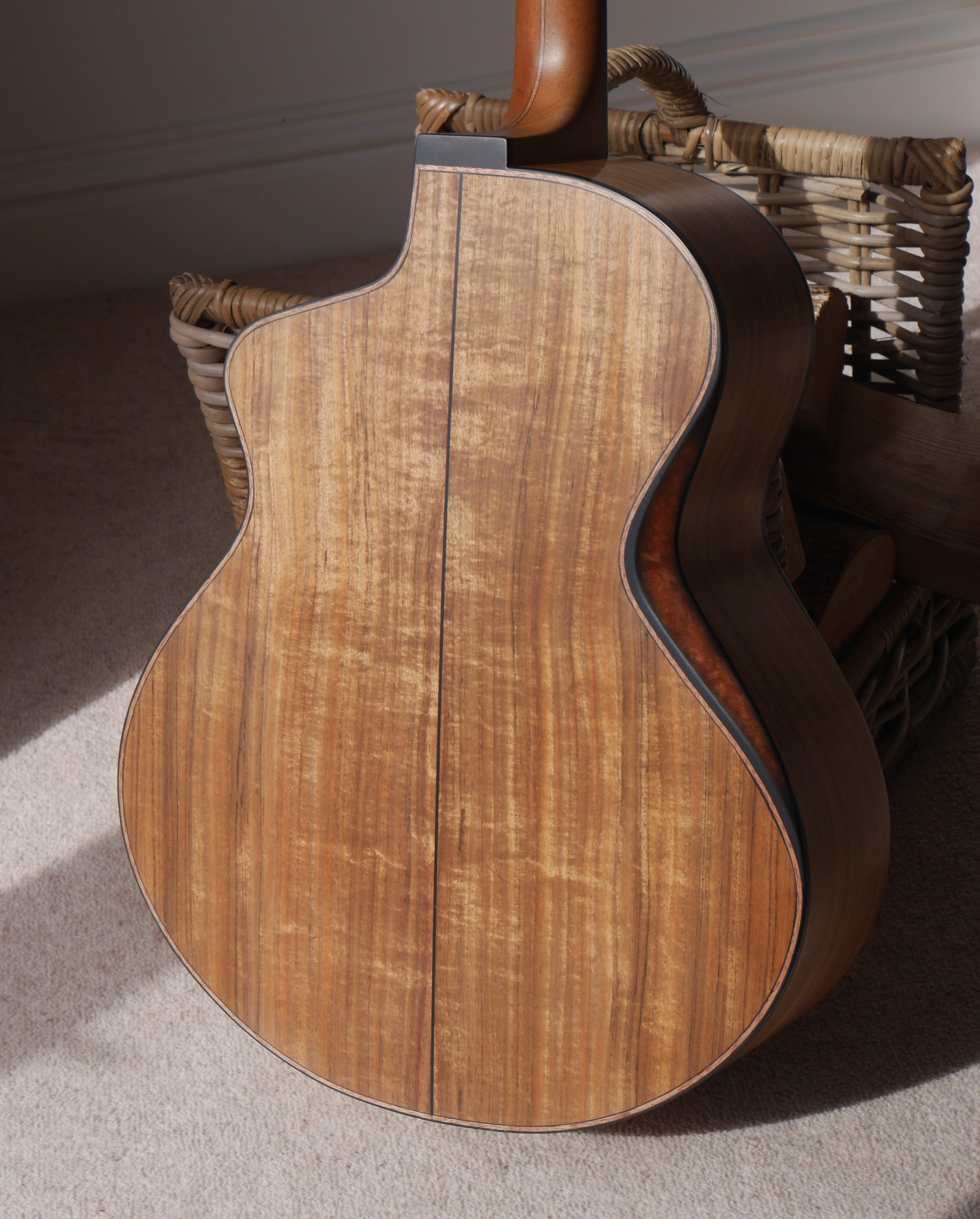 rib bevel, montgomery guitars, acoustic guitar, andreas montgomery, luthier, handmade, northern ireland